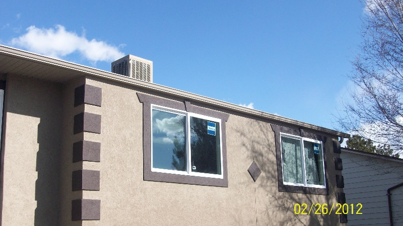 Salt Lake City gutter repair and installation project 8
