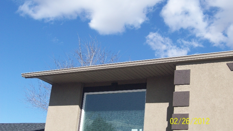 Salt Lake City gutter repair and installation project 3